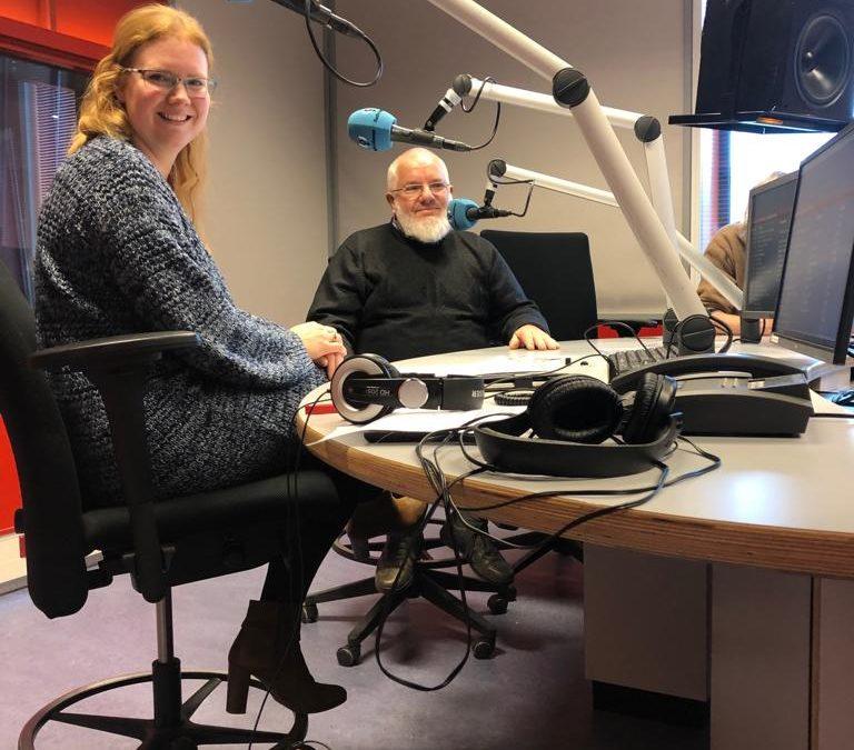 Interview bij Radio Lelystad